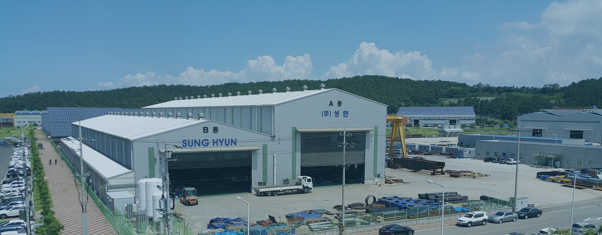 Reliable Fabricator in the Plant Industries SUNGHYUN is the expert in customized equipment fabrication for power and oil & gas industries
